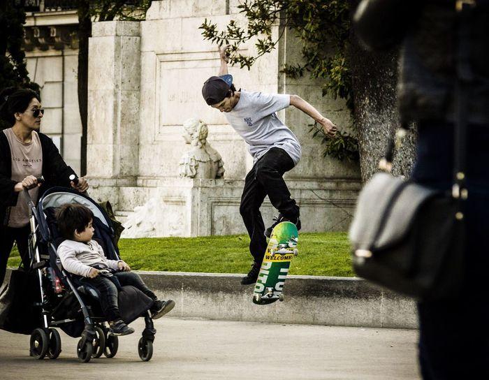 Skills Skateboarding Skateboard Streetphotography Street Photography Trick  Skill  Man Kid Madrid SPAIN Canonphotography Canon550D Lifestyles Nike Nikesb Urban Skate Is Not A Crime Madrid Skate StreetKings
