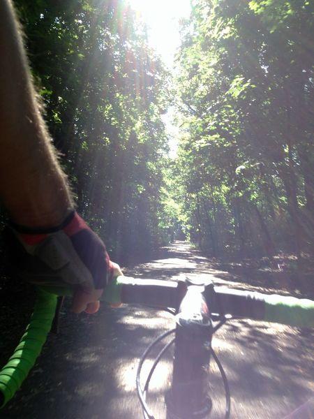 Bicycle Cyclocross Enjoying Myself