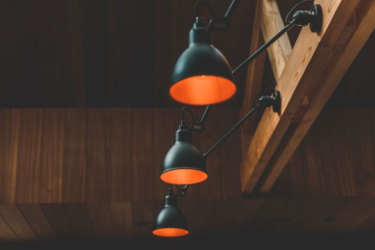 Indoors  No People Hanging Illuminated Close-up Day Wooden Structure Indoors  Home Interior Built Structure Architecture Wooden Texture Wood - Material Lamp Design Lamps