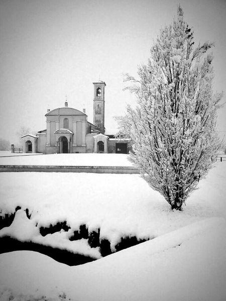 Italia Italy❤️ Lombardia Romantic Bellitalia Cold Winter ❄⛄ Travel Photography Lodigiano Corneglianolaudense Church