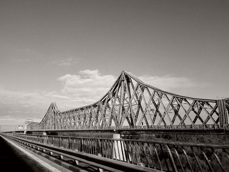 saligny bridge romania City Horizon Bridge - Man Made Structure Sky Architecture Travel Railway Bridge Suspension Bridge Railroad Bridge Pyramid Chain Bridge Train - Vehicle Bascule Bridge