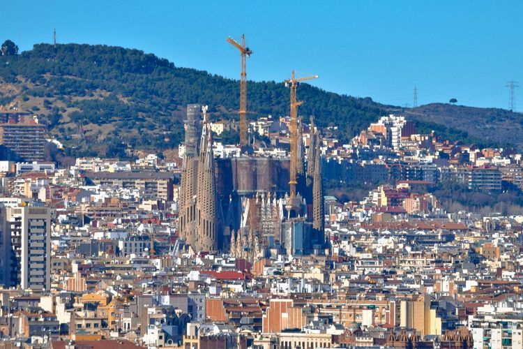 Barcelona Burgos Madrid SPAIN Architecture Building Exterior Built Structure City Cityscape Day Industry Mountain No People Outdoors Sky First Eyeem Photo