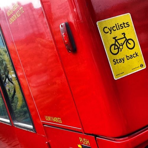 Visionsofcroydon message to all cyclists !!! Topical