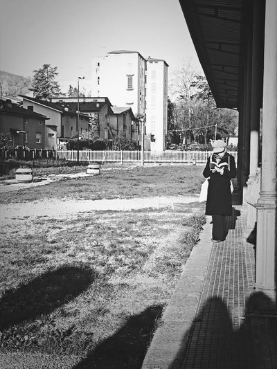 Street Photography Model Black & White Enjoying Life
