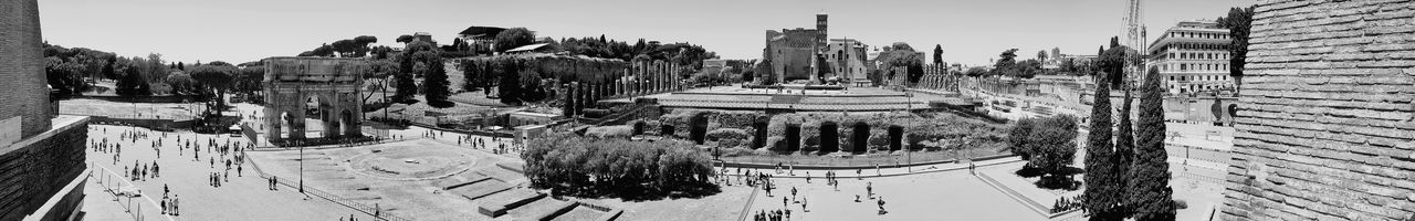 Architecture City Outdoors Day City Travel Destinations Rome Monument Tourism Travel Architecture Ancient History Ancient Civilization Old Ruin Archaeology Architectural Column Moving Around Rome