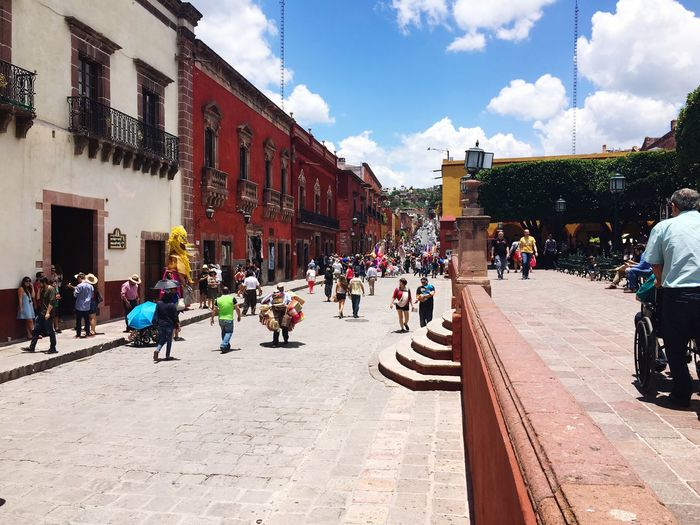 San Miguel De Allende Vacation Enjoying The View Crowded