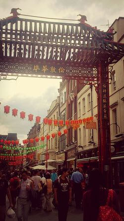 London Chinatown Being A Tourist