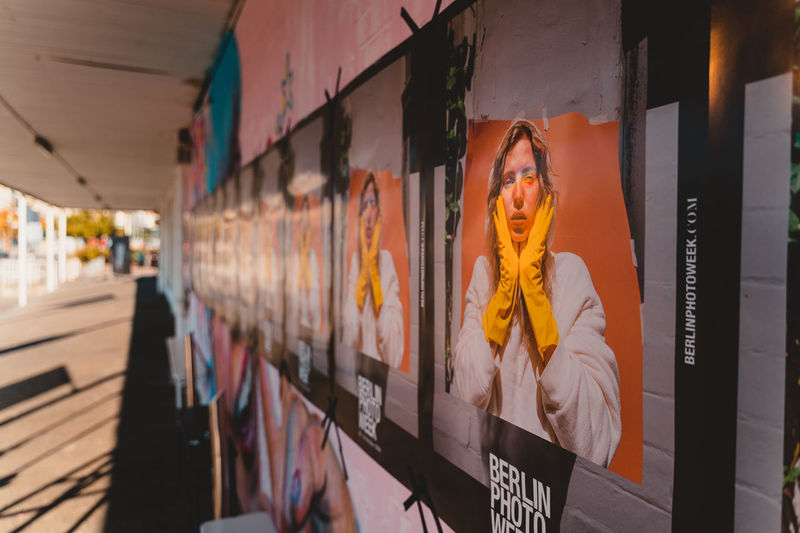 Berlin Photo Week 2018 Berlin Photo Week BPW18 EyeEem Human Representation Art And Craft Religion Representation Architecture Creativity Male Likeness Belief Spirituality Indoors  Built Structure Building Day Place Of Worship Statue Sculpture Female Likeness Real People One Person Text