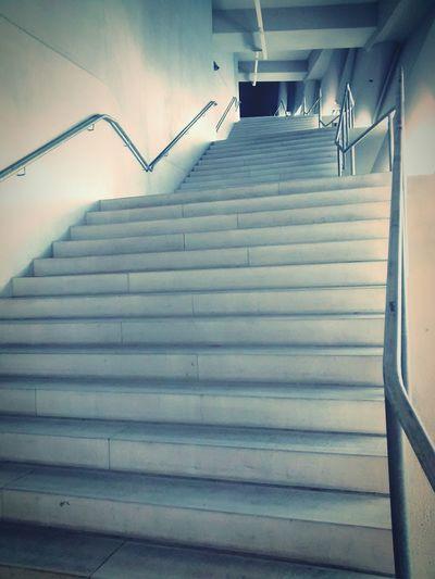 Allianz Arena Stairways Urban Architecture Munich München Stadium Found On The Roll