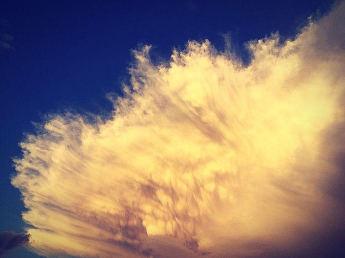 Beauty In Nature Cloud - Sky Cloud Blue Cloudscape Cloudy Heaven Dramatic Sky
