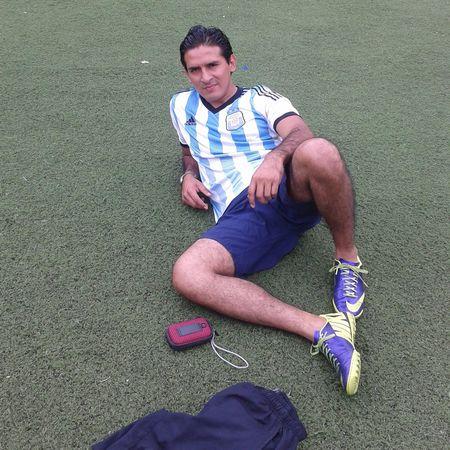 Fútbol Relaxing Enjoying Life Hi!