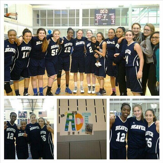 Senior night with my team.... I love my team #sisters Senior Night Ball Is Life