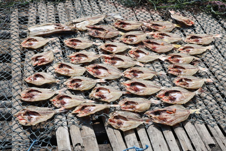 Dry salted fish