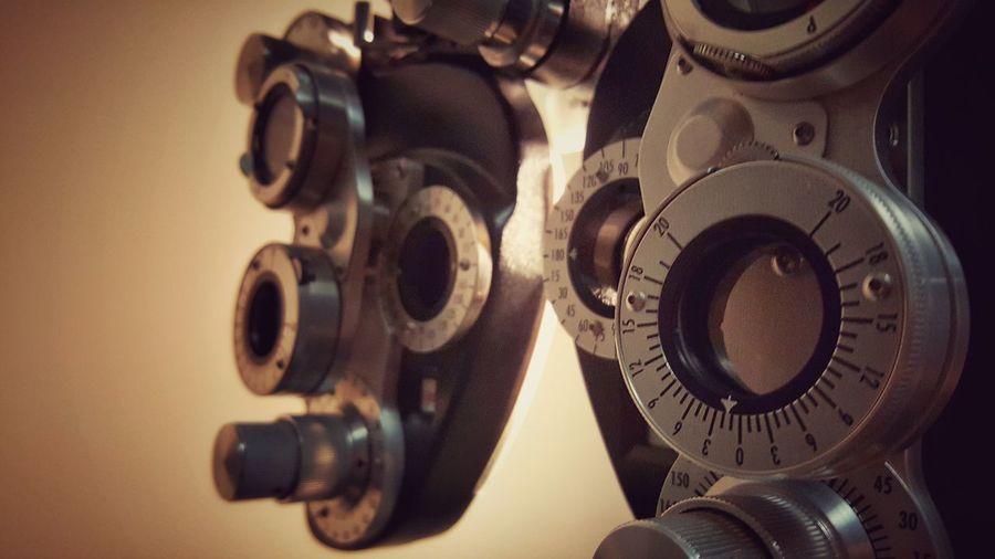 Aye, eye! Phoroptor Eye Exam  Eye Examination Eye Doctor  Optometrist Eye Test Industrial Lenses Opthalmology Section Opthmalogist Optometry Phoropter Technical The OO Mission
