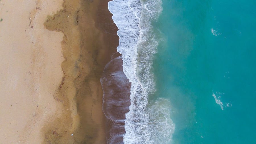 the beach EyEmNewHere Drone  Dronephotography Dji Beachphotography DJI X Eyeem Natural Beauty Autumn Mood Wave Water Sea Beach Close-up Surf Tide Seascape Flowing Water Crashing Coast Textured  Sand Shore