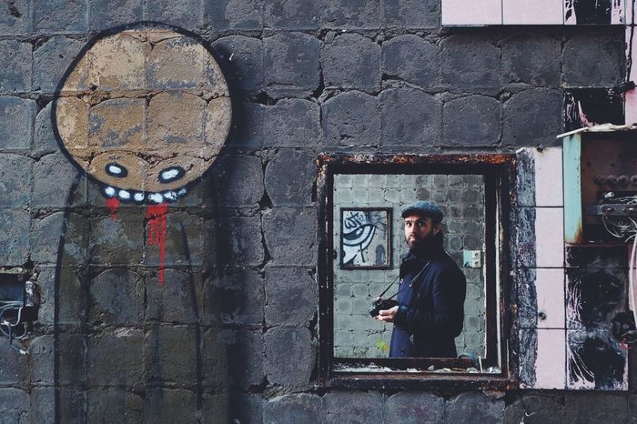 Portrait ArtWork Steetphotography Wanderlust Wall Abandoned Buildings Details Architecture Graffiti Inception My Favorite Photo People And Places People And Places.