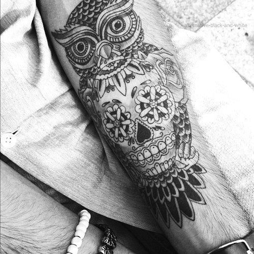 Owl Tattoo Tattoo