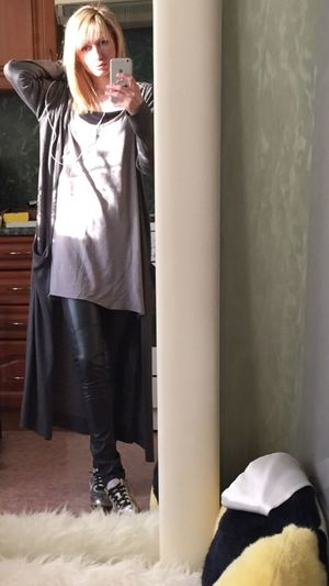 Man's T-shirts Old Nike✔ Street Fashion That's Me Grey Hello World