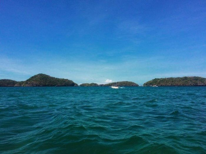 Hundred Islands, Pangasinan Islands Pangasinan, Philippines Hundred Islands  Water Sea Blue Beach Clear Sky Sky