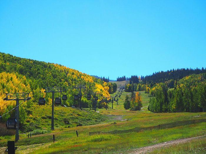Time to hike Vacation Colorado Rocky Mountains Blue Sky Hiking Outdoors