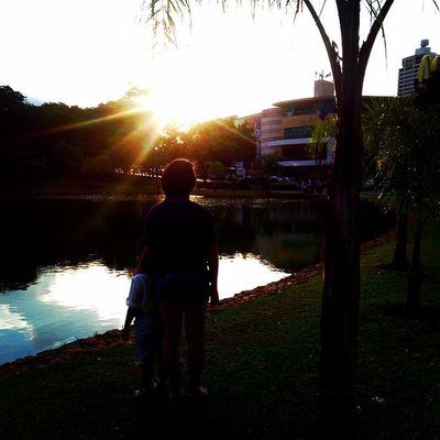 My beautiful sunset Sunset Goiânia Brazil