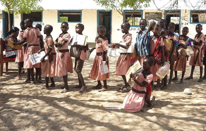 The School Kenya School Real People Group Of People Large Group Of People Crowd Men Sunlight EyeEmNewHere Shadow Architecture Day Built Structure City Uniform Nature Street Women Lifestyles Building Exterior