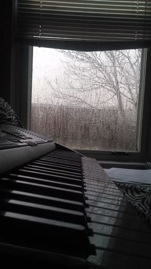 Piano Instrument Rain Perfectsetting