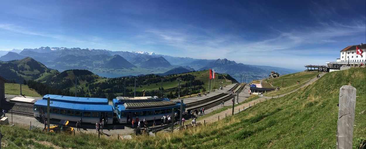 Mt.Rigi Switzerland Getting Inspired Color Photography Sky Traveling Enjoying Life Holiday Travel Mountains Beautiful View Photography