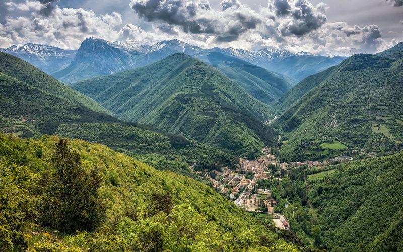 Photo taken in Visso, Italy