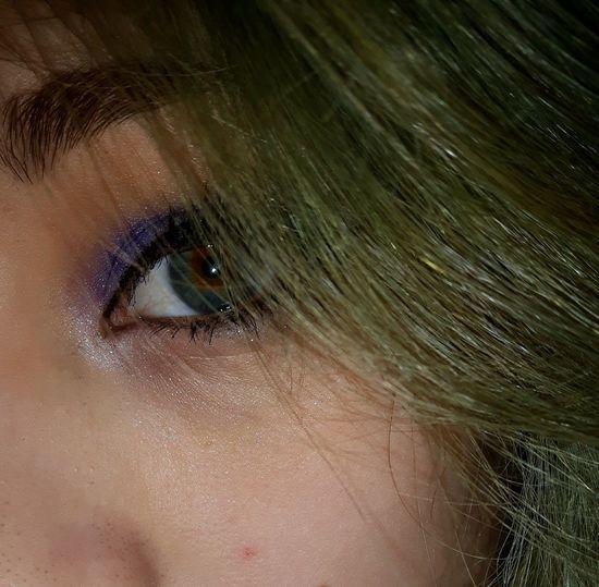 👁 Close-up Eyelash Human Eye Eye Cool Pretty Greeneyes BlueEyes Twocoloreyes Multicolored Loveit Makeup Purple ONFLEEK Greenhair BlueHair Coloredhair Fuckit Nofilter JustMe