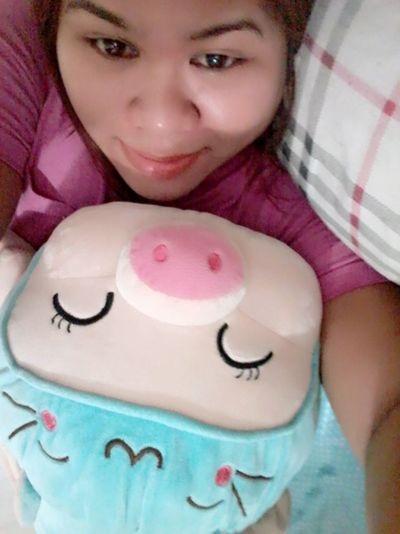 One Person One Girl Only Portrait Human Body Part chubby Peggy🐷🐽🐽 Happy
