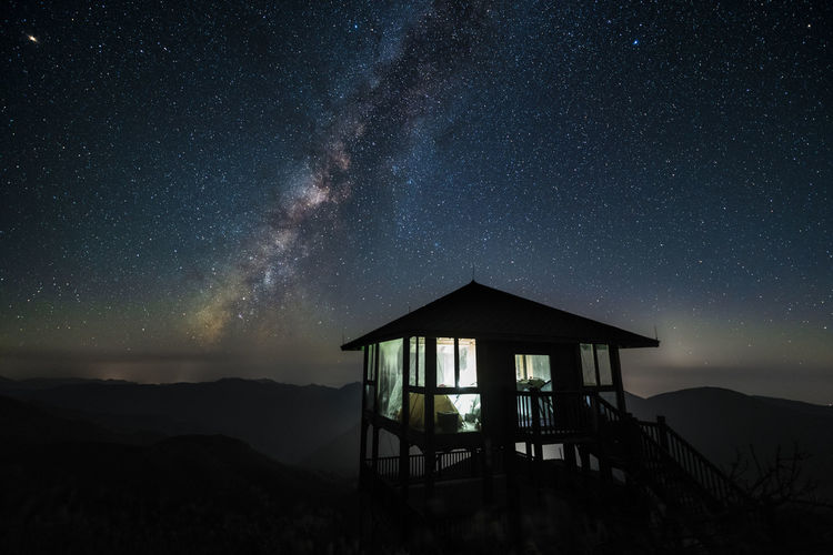 Astronomy Galaxy Milky Way Nature Night No People Sky Star Star - Space