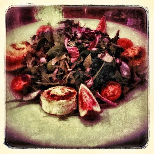 Ziegenk äse Salat Gratiniert Zizou Mädelsabend Essen Rüttenscheid lecker