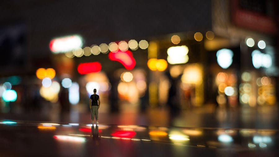 Minifigure Lonely Night