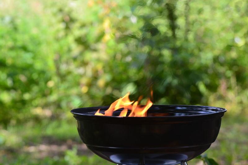 #barbecue #fire #leisure Heat - Temperature
