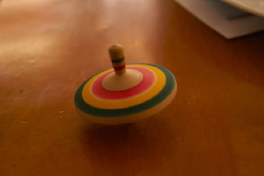 Childhood Close-up Colorful Day Indoors  No People Spinning Top Table Toy Welcome To Black