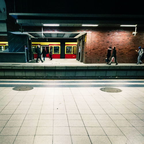 Public Transportation S-Bahn Berlin Commuting Urban Geometry Vescocam AMPt_community Showcase March