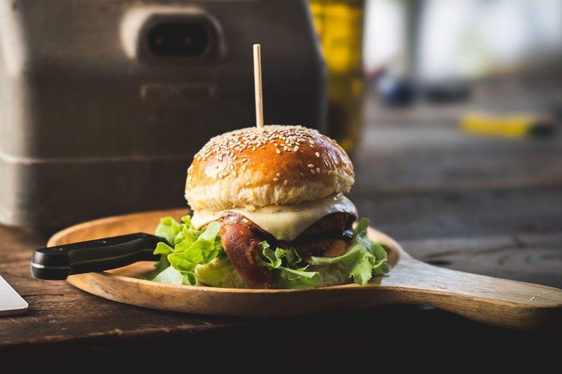 Hamburger on