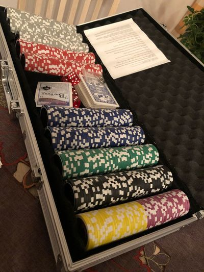 Poker time #chips #poker Indoors  Home Interior No People Day Close-up