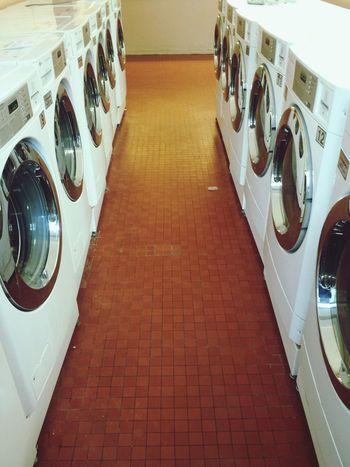 Laundromat Washers Dryer  Doing Laundry