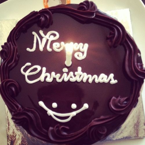 Christmas Eve Christmas Santa Gifts Cake choco chocolate yummy