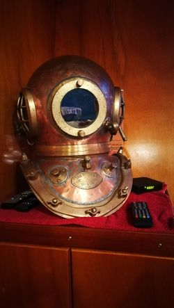 Old Diving Helmet Retro Styled Technology No People surrounded by Electronics  Remote Controls