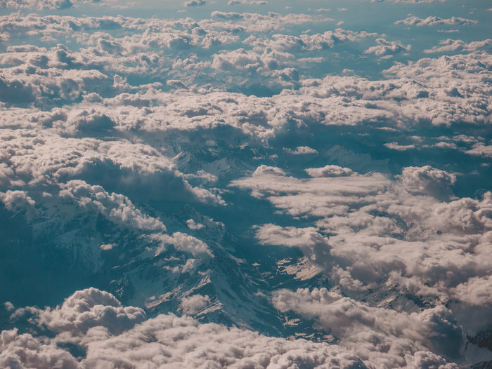Above Aerial View Awe Backgrounds Beauty In Nature Cloud - Sky Cloudscape Day Dramatic Sky Environment Full Frame High Angle View Idyllic Meteorology Nature No People Non-urban Scene Outdoors Scenics - Nature Sky Softness Tranquil Scene Tranquility