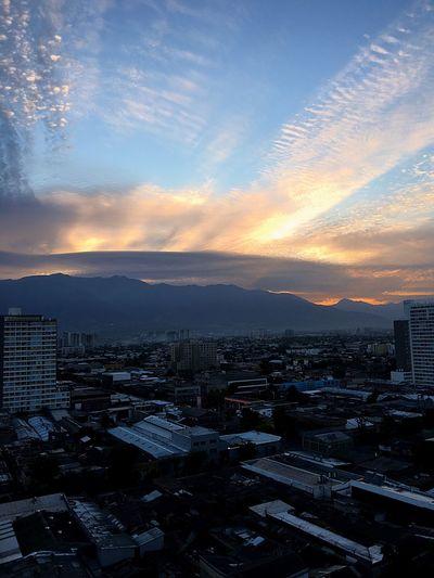 Amanecer Santiago De Chile Vida Agradecidoportodo Esperanza Armonia En El Instante Amor