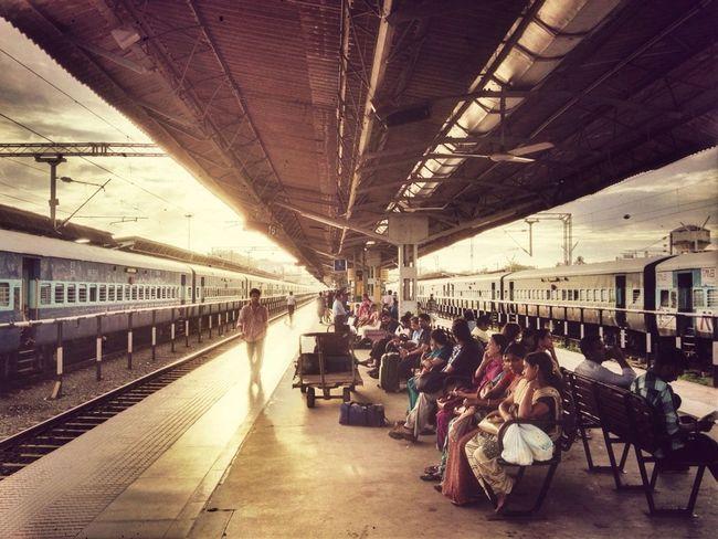 Train Station Wanderlust