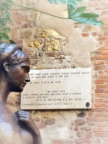 Romeo And Juliet Giulietta Verona Verona In Love