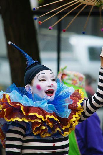 Portland Rose Parade, , Cultural Festival, Clown, Clown Face, Clownmakeup, Clowncostume