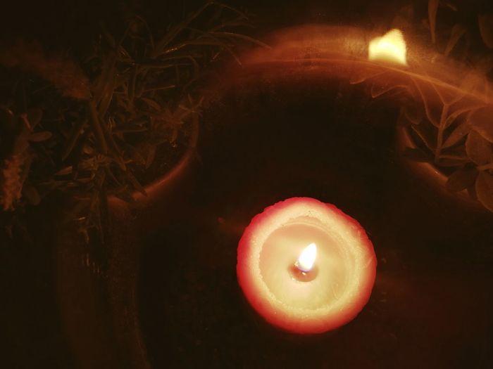 Kerzenlicht Kerzen Kerzenzauber Kerzenduft Candle Flame Candlelight