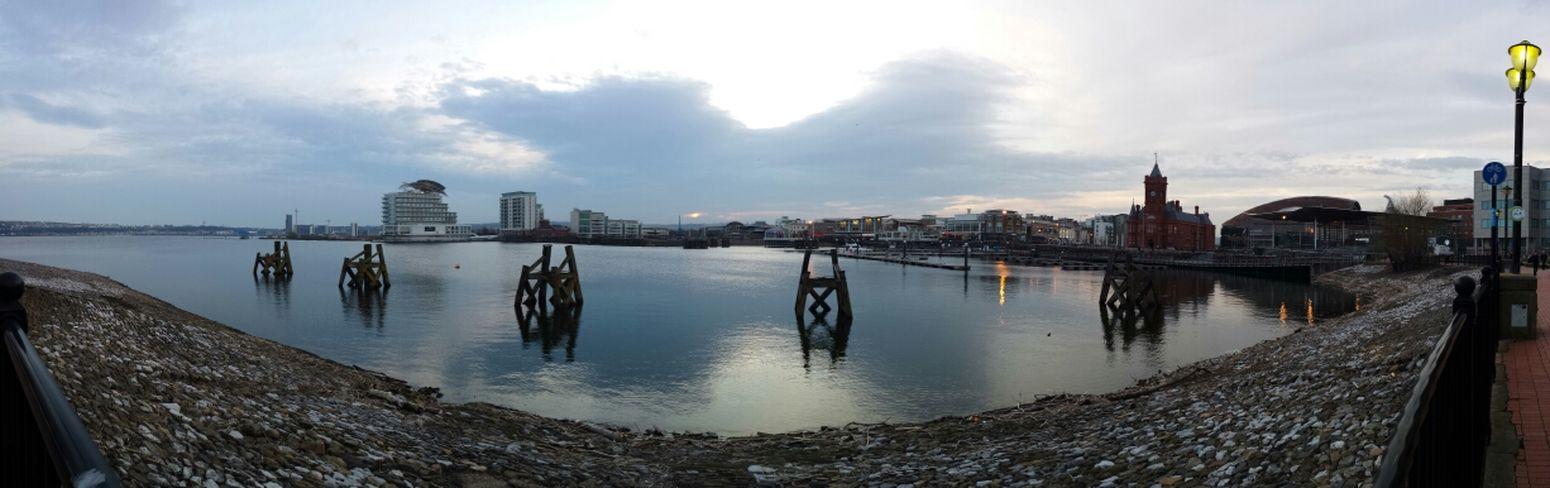 Cardiff Bay Cardiff Bay Cardiff Panorama