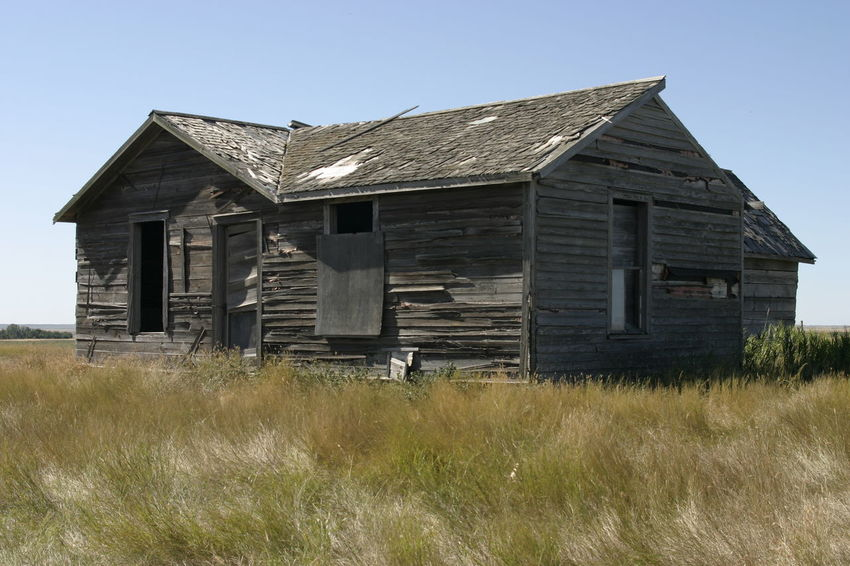 Outdoor Photography Prairie Scenes Old Buildings Rural Exploration
